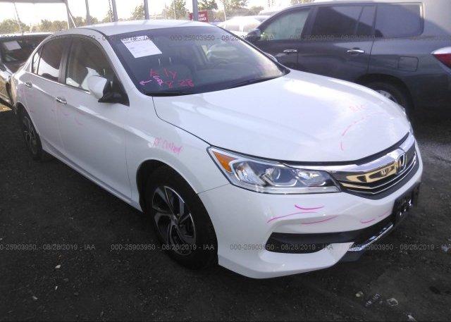 Inventory #442935388 2016 Honda ACCORD