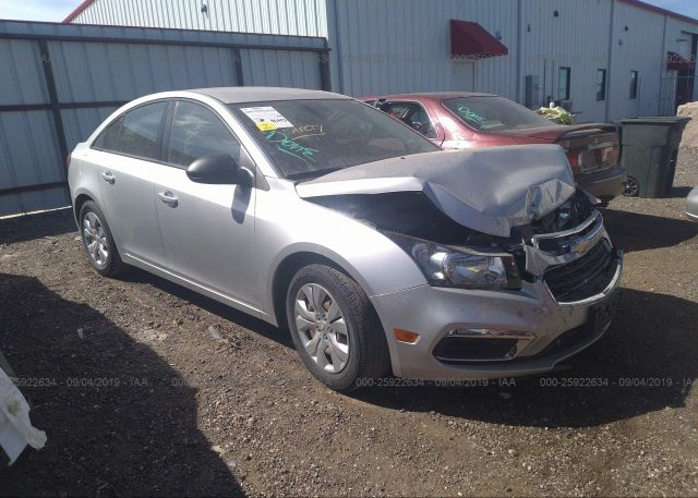 Inventory #953752179 2016 Chevrolet CRUZE LIMITED