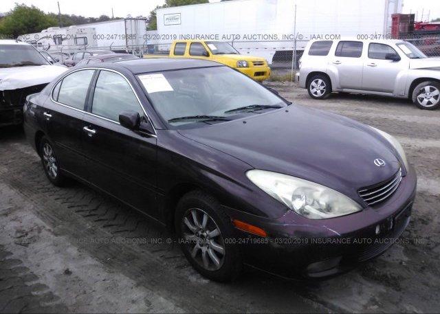 Inventory #888355921 2002 Lexus ES