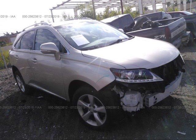 Inventory #486617103 2013 Lexus RX