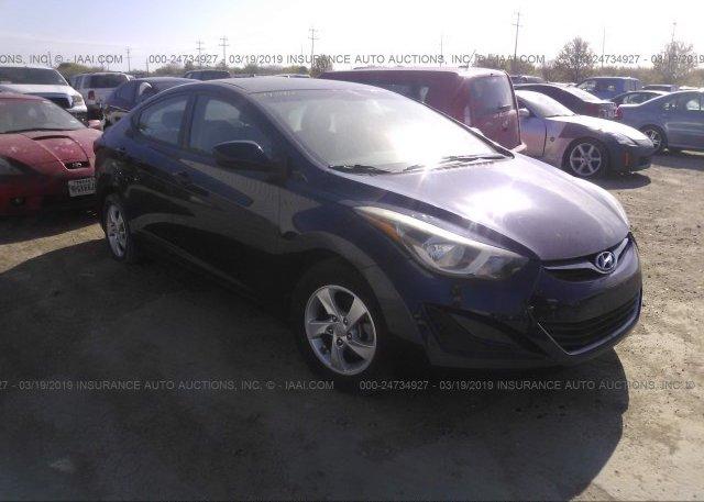 Inventory #758799257 2014 Hyundai ELANTRA