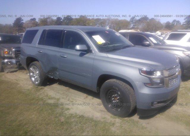 Inventory #748680370 2016 Chevrolet TAHOE