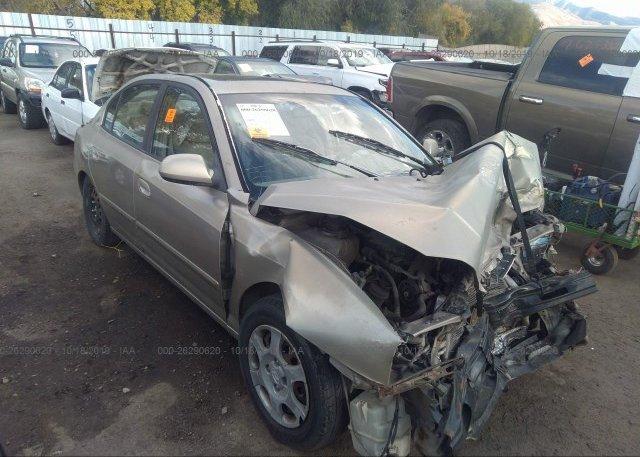 Inventory #875302405 2002 Hyundai ELANTRA