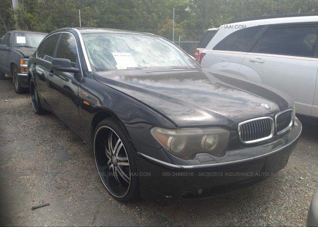 Inventory #663142898 2004 BMW 745