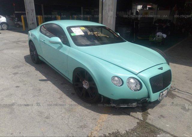 Inventory #590667550 2013 Bentley CONTINENTAL