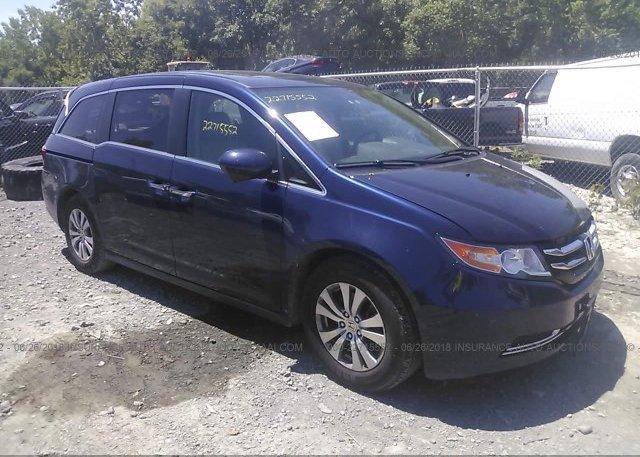 Inventory #480354325 2014 Honda ODYSSEY