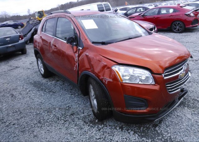 Inventory #674438827 2016 CHEVROLET TRAX