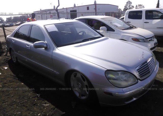 Inventory #832378787 2001 Mercedes-benz S