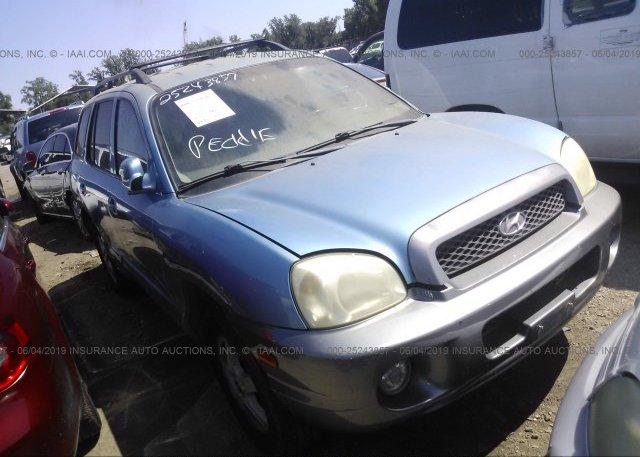 Inventory #859948269 2003 Hyundai SANTA FE