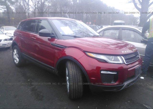 Inventory #539546673 2017 Land Rover RANGE ROVER EVOQU