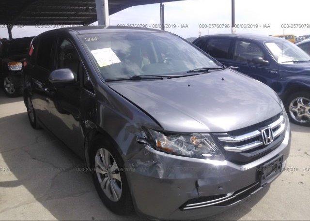 Inventory #585433023 2014 Honda ODYSSEY