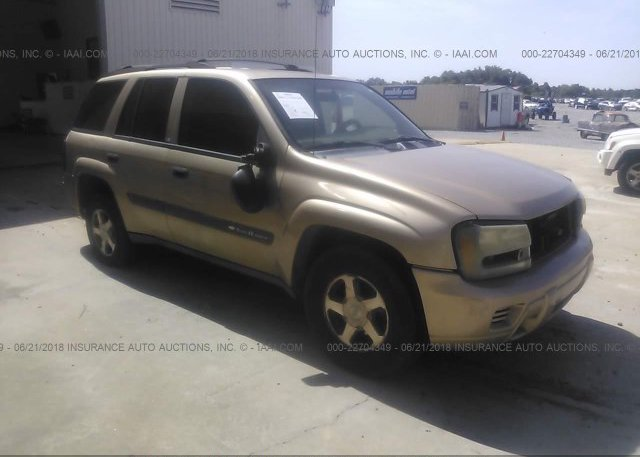 Inventory #712627348 2004 Chevrolet TRAILBLAZER