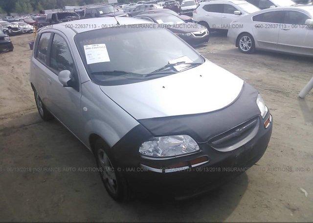 Inventory #322880076 2006 Chevrolet AVEO