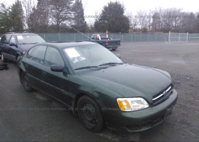 Inventory #124852514 2001 Subaru LEGACY