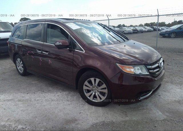 Inventory #839448885 2014 Honda ODYSSEY