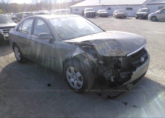 Inventory #822985227 2008 Hyundai SONATA