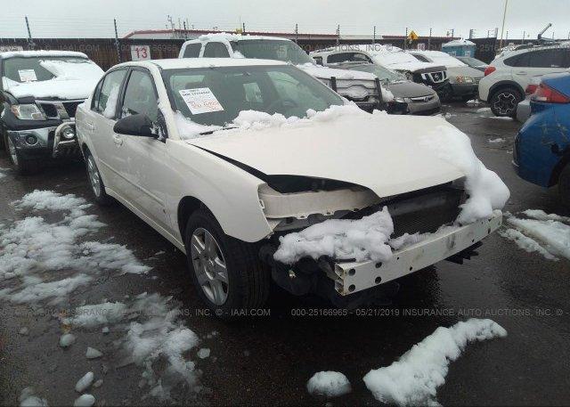 Inventory #922848167 2007 Chevrolet MALIBU