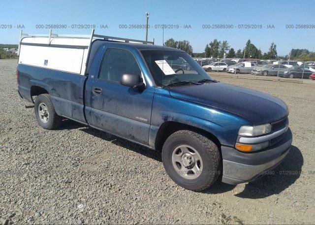 Inventory #669025127 2001 Chevrolet SILVERADO