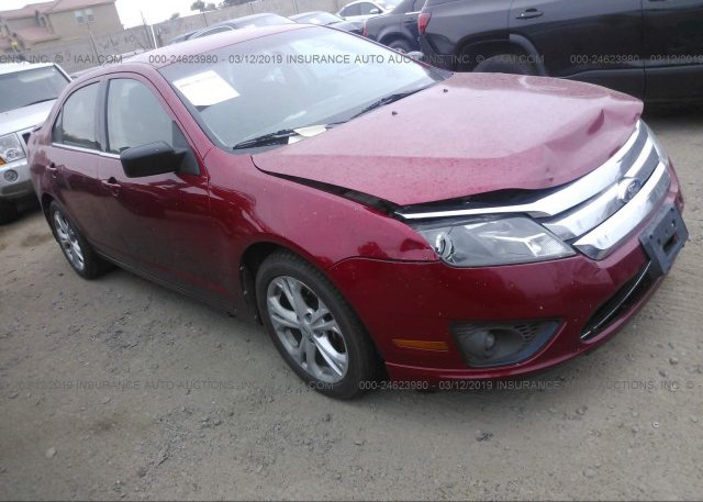 Inventory #160174102 2012 FORD FUSION