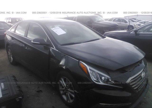 Inventory #784160141 2015 Hyundai SONATA