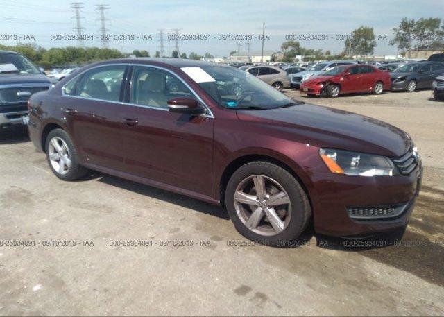 Inventory #754025313 2012 Volkswagen PASSAT