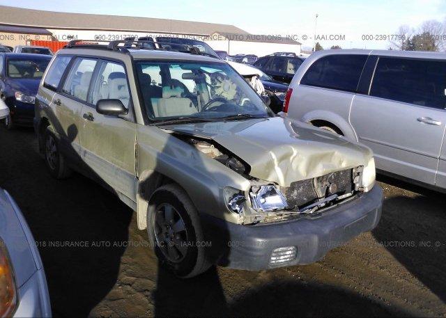 Inventory #104793833 2001 Subaru FORESTER