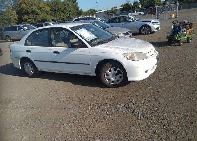 Inventory #602653013 2005 Honda CIVIC