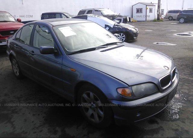 Inventory #133805015 2003 BMW 325