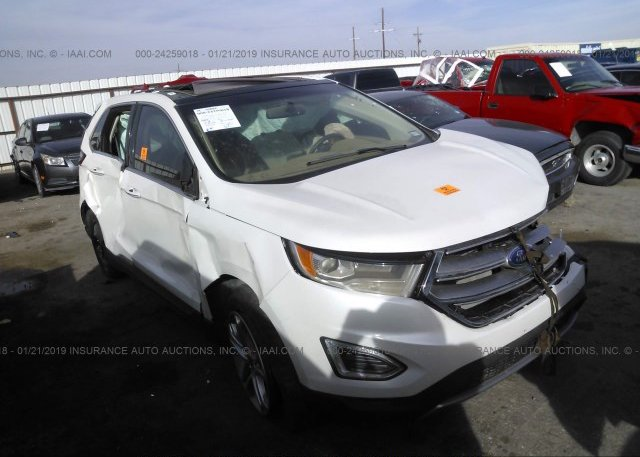 Inventory #106091955 2015 FORD EDGE