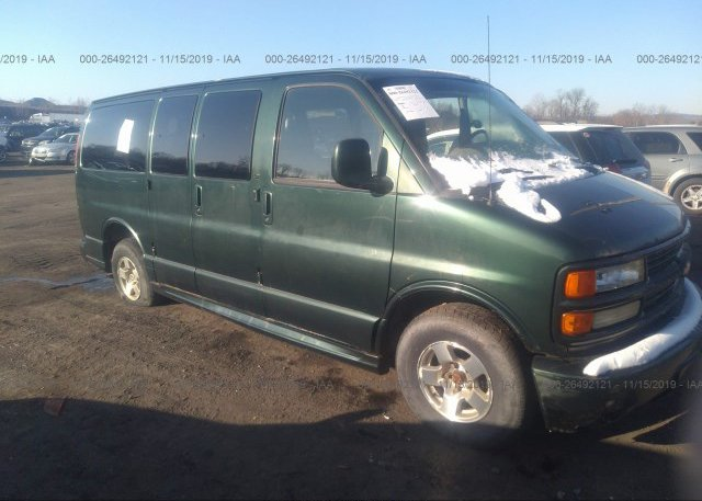 Inventory #537544723 2001 CHEVROLET EXPRESS G1500