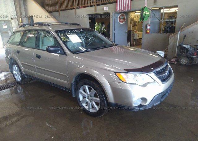 Inventory #602896429 2009 Subaru OUTBACK