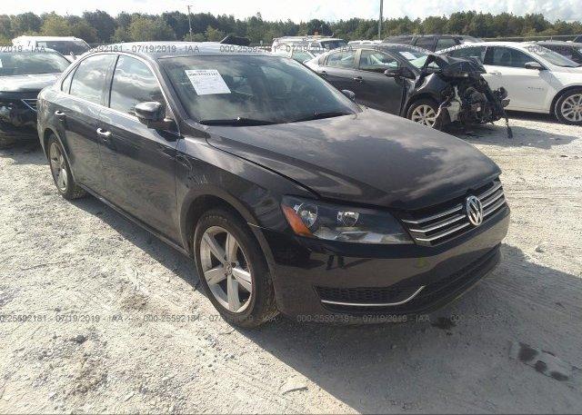 Inventory #922310439 2014 Volkswagen PASSAT