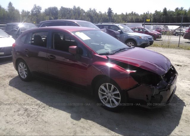 Inventory #981220593 2012 Subaru IMPREZA