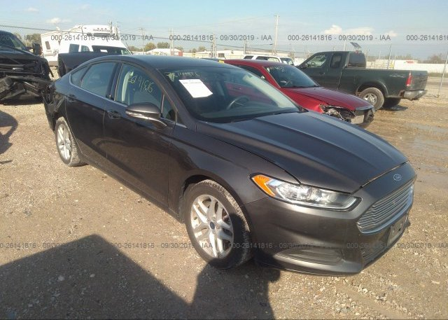 Inventory #188230480 2016 FORD FUSION