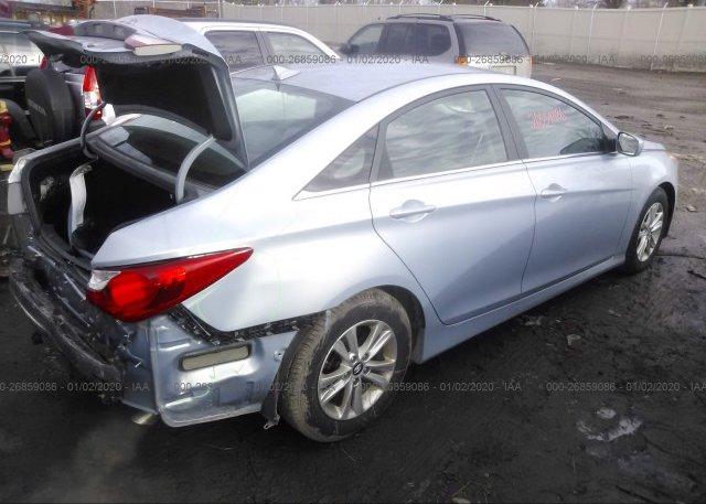 цена в сша 2014 Hyundai SONATA 5NPEB4AC6EH906955