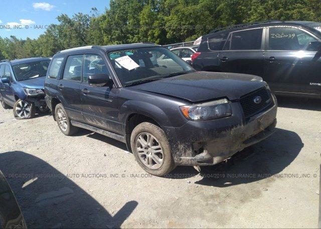 Inventory #449363129 2008 Subaru FORESTER
