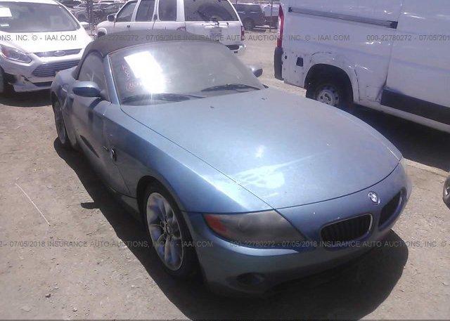 Inventory #326428304 2003 BMW Z4