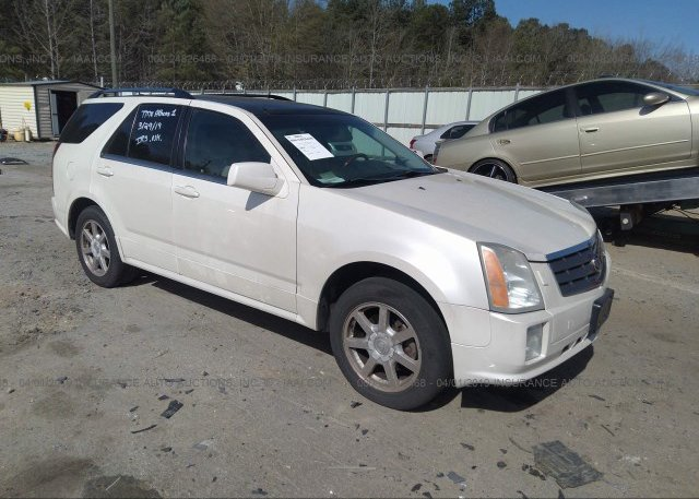 1GYDE63A540115221, Salvage-Parts Only silver Cadillac Srx at