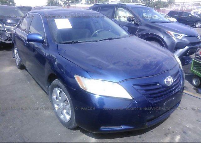 Inventory #261532536 2007 Toyota CAMRY NEW GENERAT