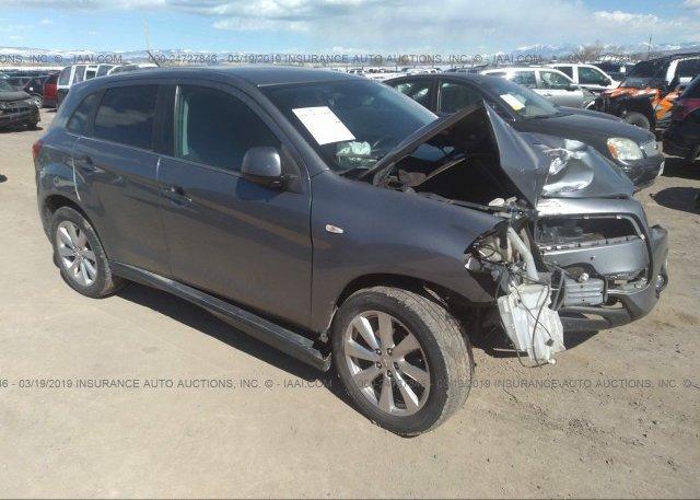 4A4AR4AU3FE032299, Bill Of Sale gray Mitsubishi Outlander