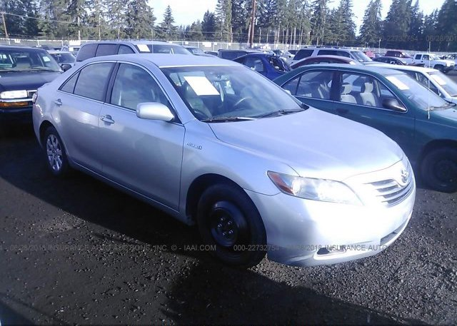 Inventory #725455100 2007 Toyota CAMRY NEW GENERATION