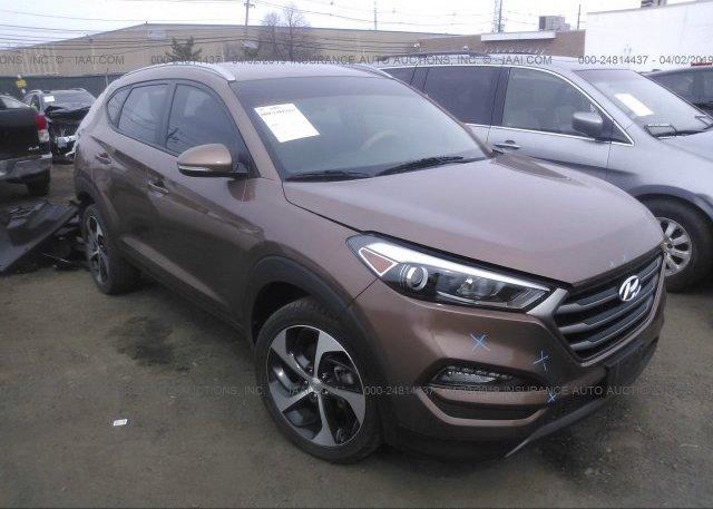 Inventory #600664317 2016 Hyundai TUCSON