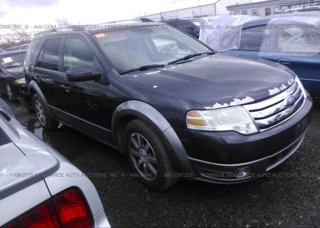 1fmdk05w28ga12755 Salvage Gray Ford Taurus X At West