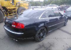 2007 AUDI S8 - WAUPN44E87N014526 rear view
