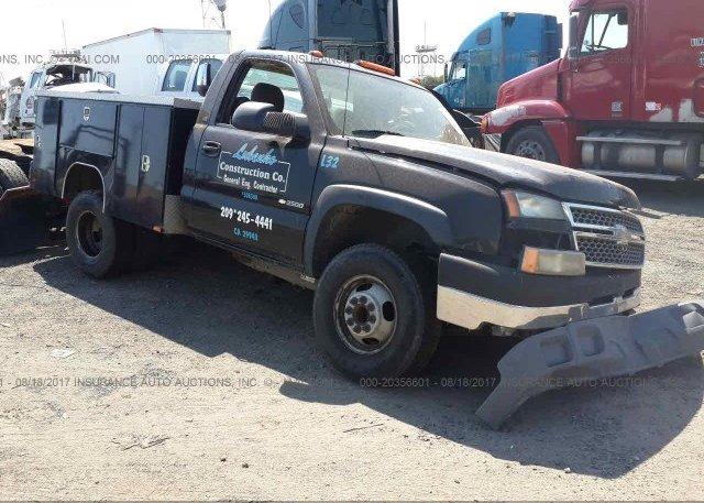 Inventory #234486171 2005 Chevrolet SILVERADO 3500