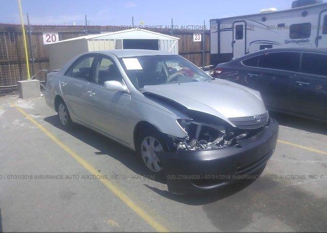 Inventory #821618078 2004 Toyota CAMRY