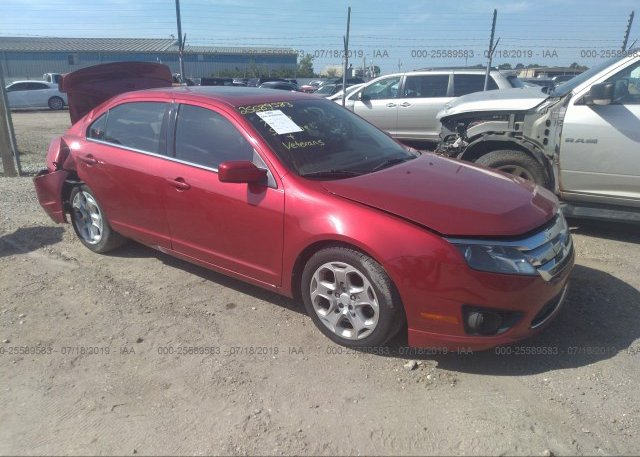 Inventory #345895715 2011 FORD FUSION