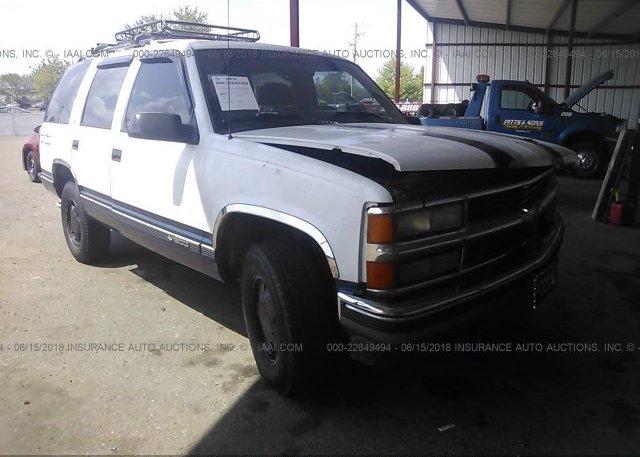 Inventory #344682561 1995 Chevrolet TAHOE