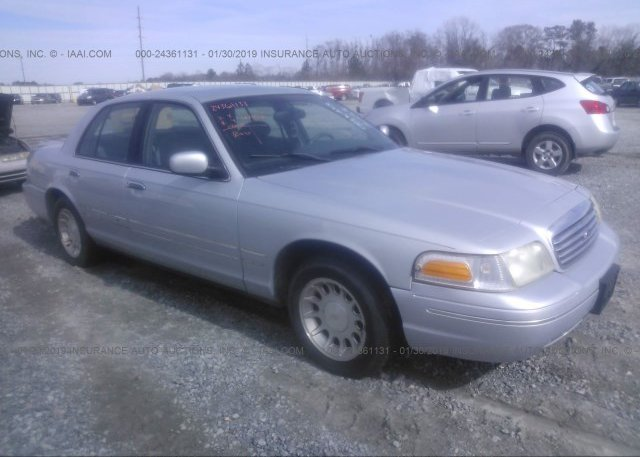 Inventory #581161858 1998 FORD CROWN VICTORIA