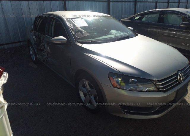 Inventory #292612154 2012 Volkswagen PASSAT
